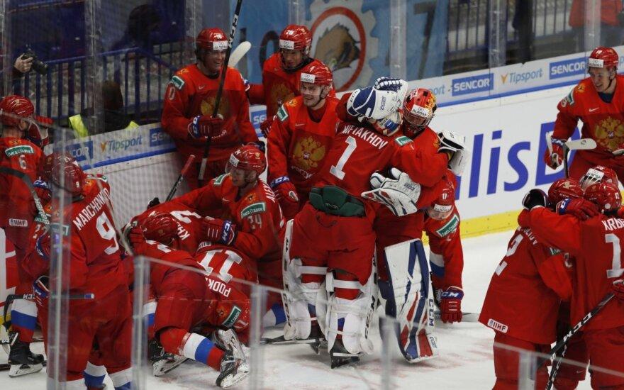 Rusijos jaunimo ledo ritulio rinktinė