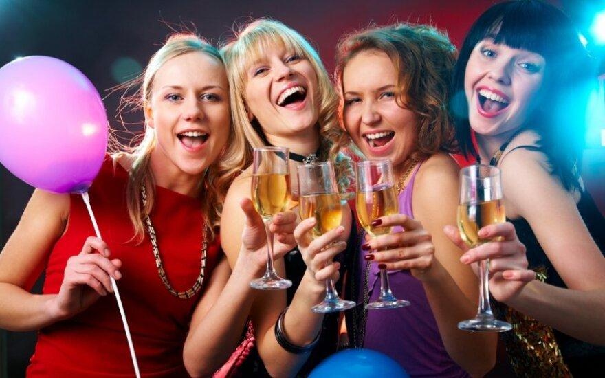Merginos geria alkoholį