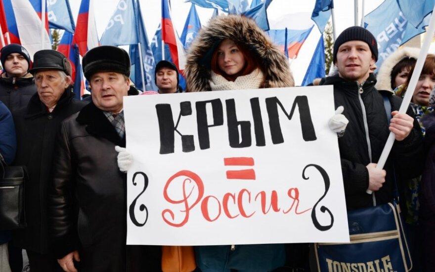 Литва - за санкции в отношении России до ее ухода из Крыма