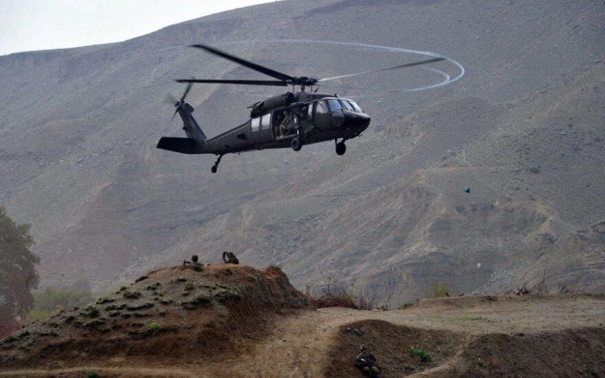 Korea: Śmigłowiec USA rozbił się przy granicy Korei Północnej
