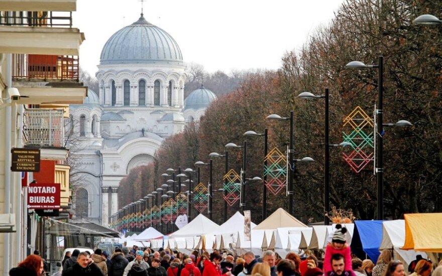 В Каунасе началась традиционная ярмарка Св. Казимира