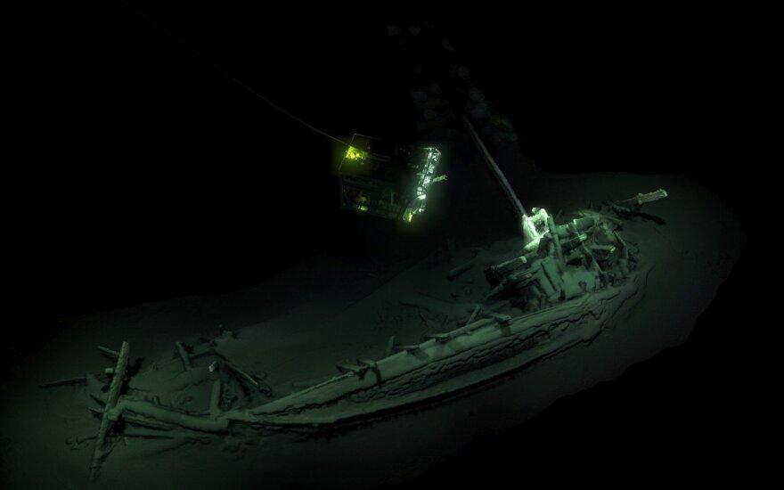 В Черном море нашли греческое торговое судно