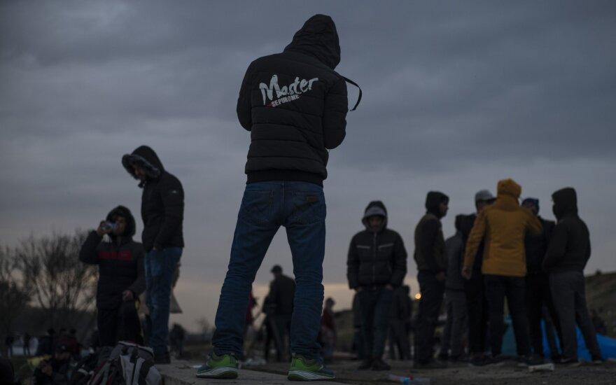 Pabėgėliai Turkijos-Graikijos pasienyje