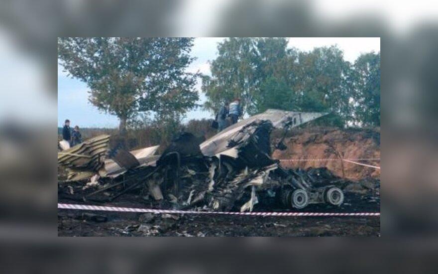"""Jaroslavlyje nukritus lėktuvui gedima žuvusių """"Lokomotiv"""" ledo ritulininkų"""