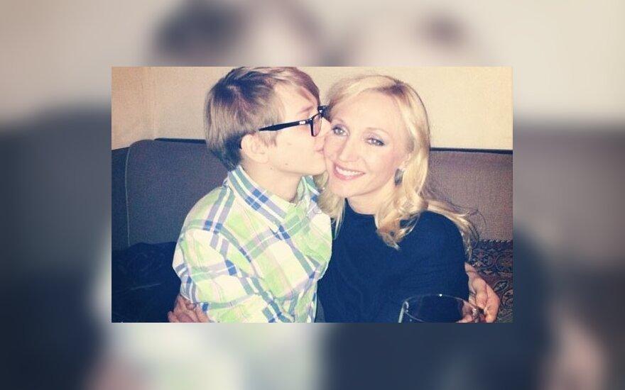 Орбакайте поделилась трогательной фотографией с сыном