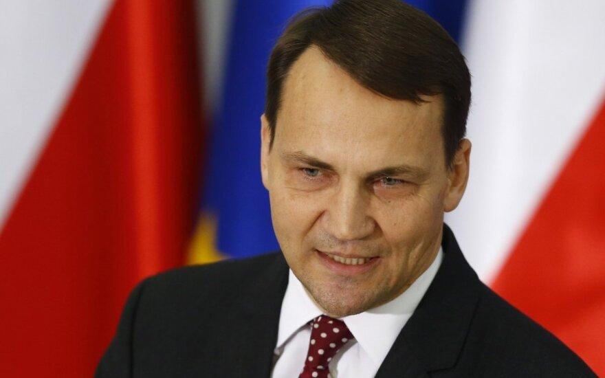 Radosław Sikorski zrezygnował ze stanowiska marszałka Sejmu