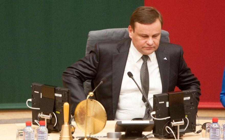 Новый спикер Cейма Литвы: мы готовы открыто дискутировать с президентом