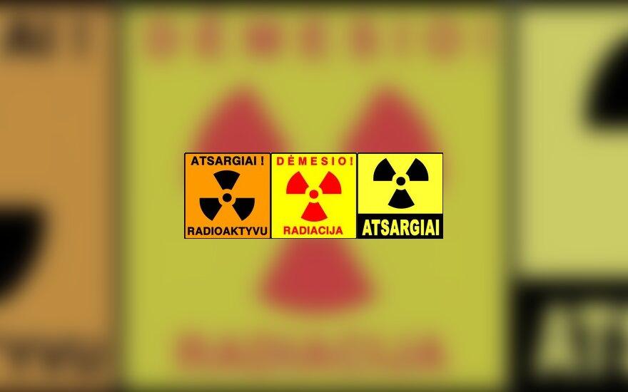 Radiacija, pavojus, stop
