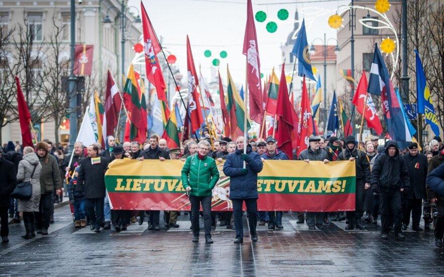 Андрикене проговорилась: в шествии националистов участвовали и консерваторы