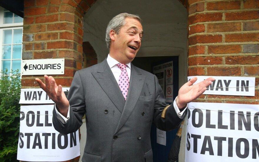 Британия: лидер Партии независимости Фарадж решил подать в отставку