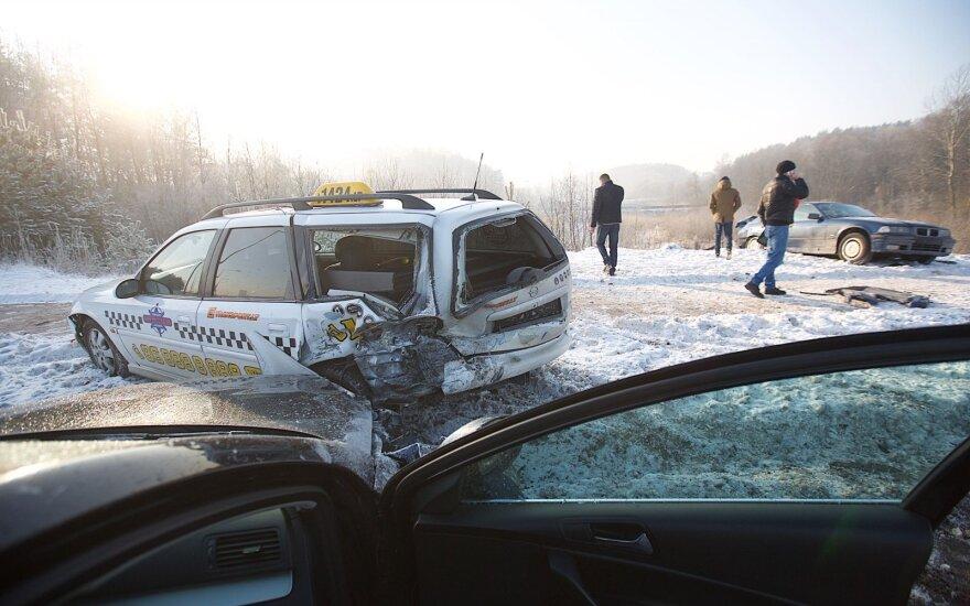 На проспекте Пилайте ДТП совершил водитель VW Passat