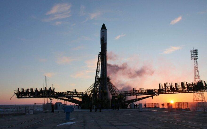 """Rusijos kosminis laivas """"Progress"""""""