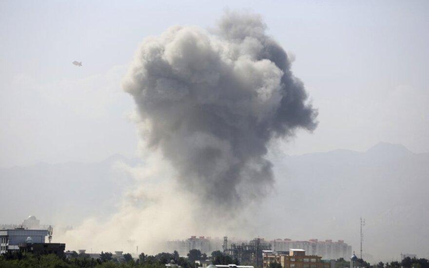 Kabulą sudrebino galingas sprogimas
