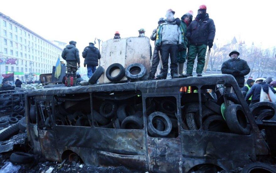 """Киев: """"Правый сектор"""" не гарантирует продолжение перемирия"""
