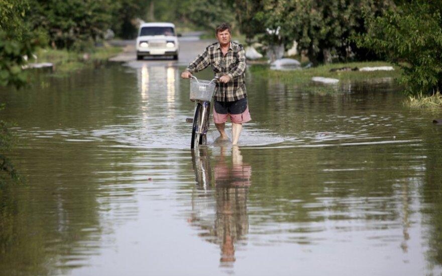Potvyniai Krasnodaro regione