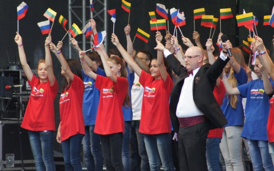 """День России"" в Вильнюсе. Фото: Оксана Бекерене"