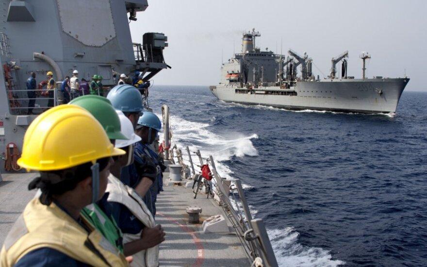 """JAV karinio jūrų laivyno laivas """"Rappahannock"""""""