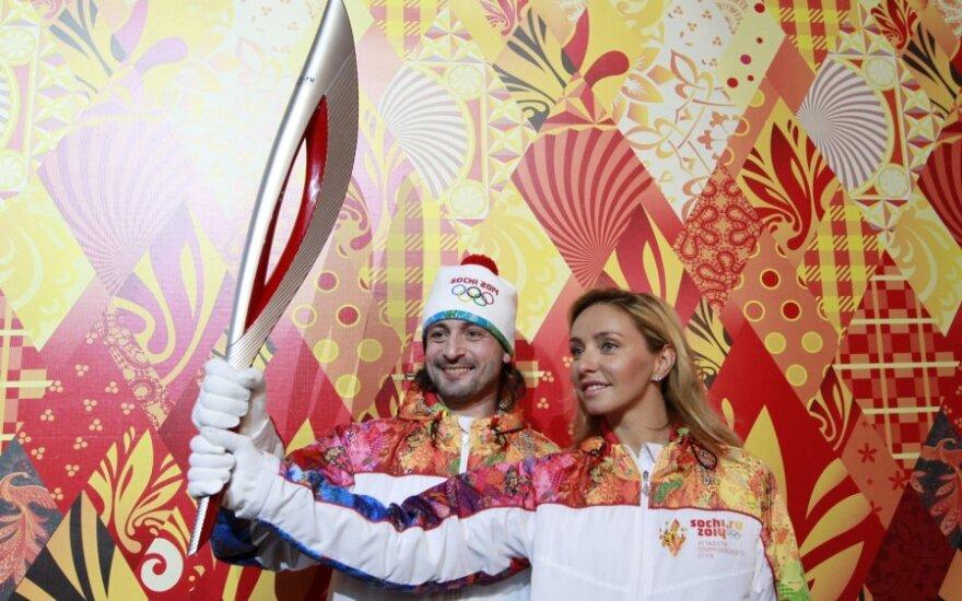 Pristatytas Sočio olimpinių žaidynių deglas