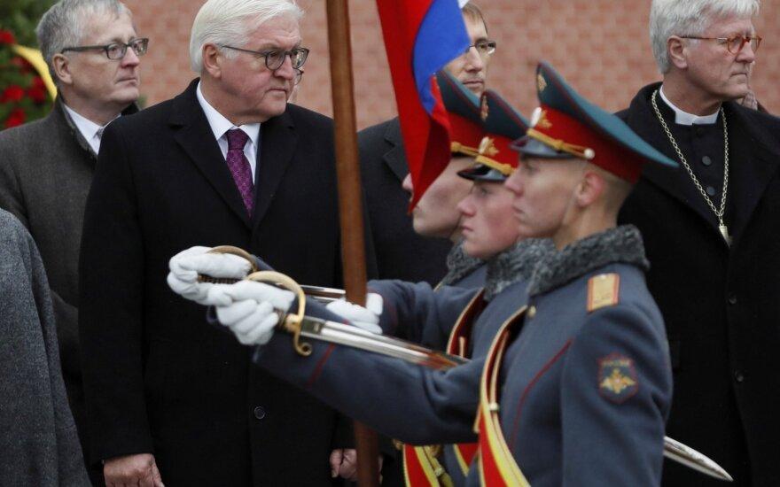 """Президент Германии в Москве выразил благодарность """"Мемориалу"""""""