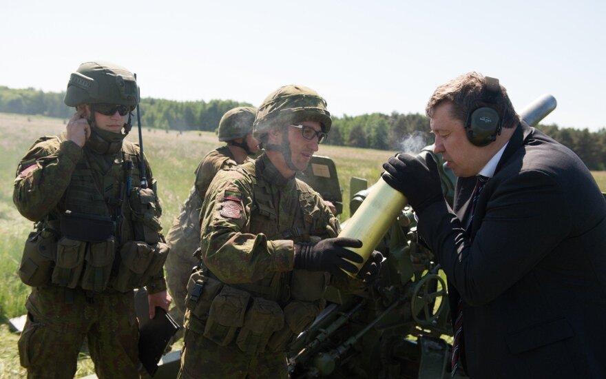 Кароблис поблагодарил министра обороны Португалии за вклад в безопасность региона