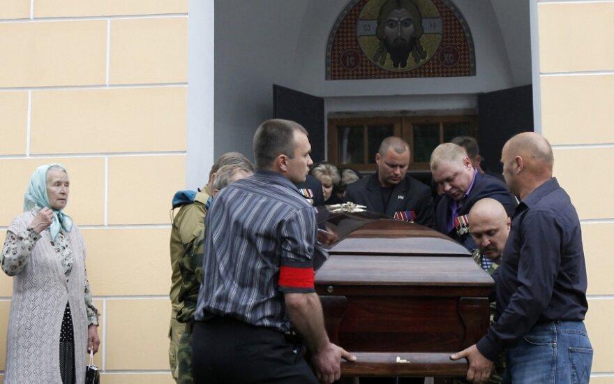 Jurijaus Budanovo laidotuvės