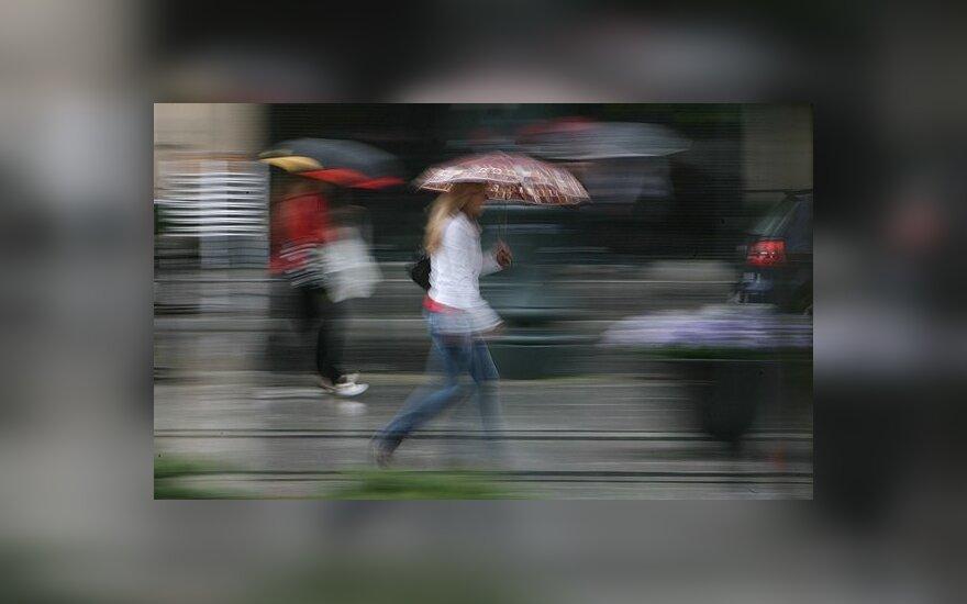 В выходные ожидает прохладная погода и дождь