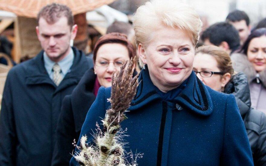 Президент Литвы поздравила нового Папу, пожелала продолжать миссию объединения христиан