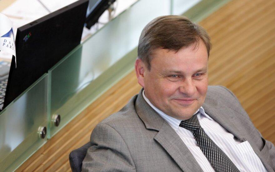 ПТ выдвигает на пост спикера Сейма Литвы кандидатуру Видаса Гедвиласа