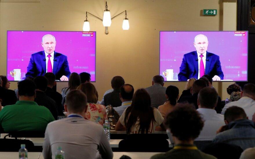 """Vladimiro Putino """"Tiesioginė linija"""""""