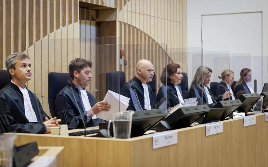 Nyderlandų teismas tęsia teismo procesą dėl lėktuvo MH17 numušimo