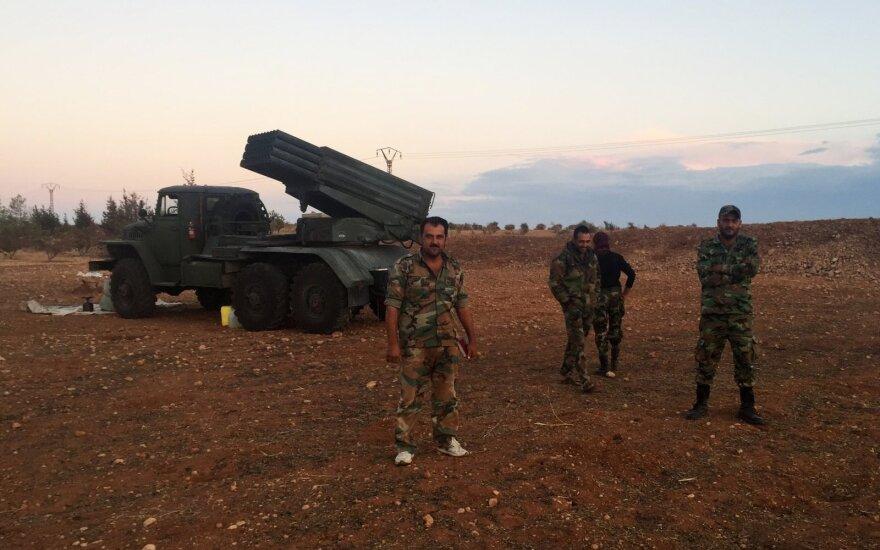 Сирийская армия прорвала блокаду военной базы близ Дамаска
