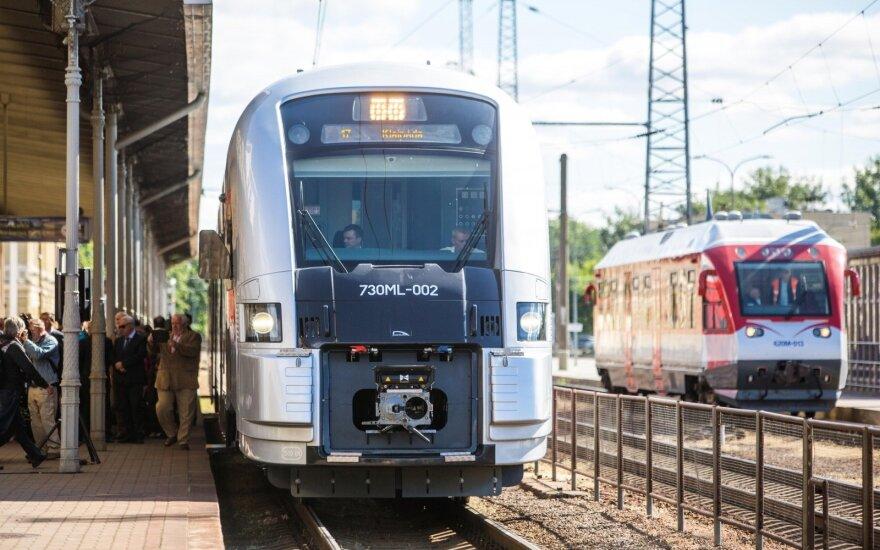 Начинает курсировать дневной поезд Минск-Вильнюс