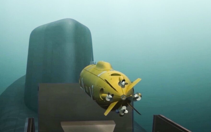 """В Балтийском море может появиться российский подводный боевой робот """"Цефалопод"""""""
