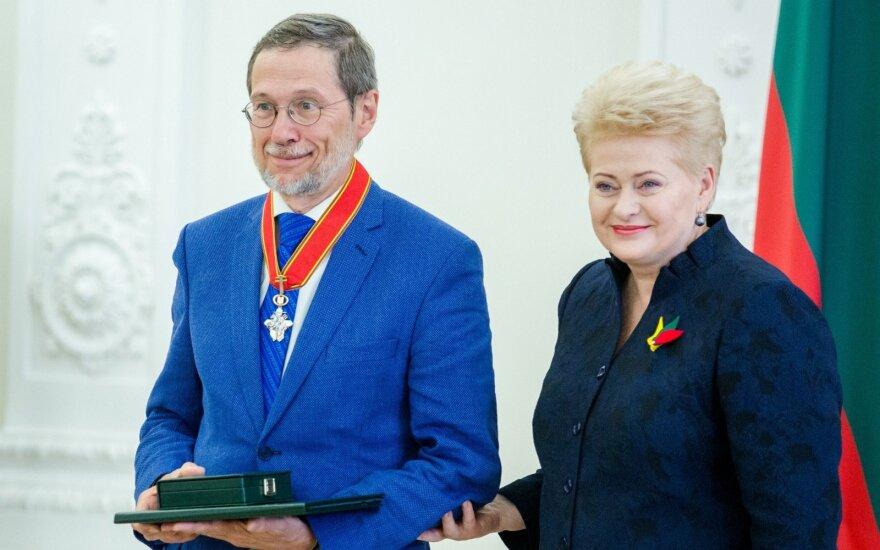 Liudas Mažylis, Dalia Grybauskaitė