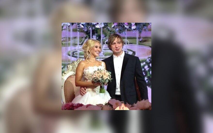 Лера Кудрявцева вышла замуж за хоккеиста (Видео)
