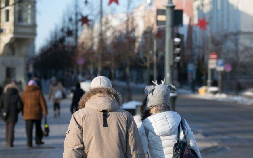 В выходные дни в Литву вернется мороз