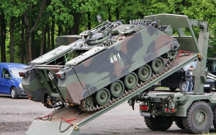 Минобороны США подарило Хорватии 30 броневиков