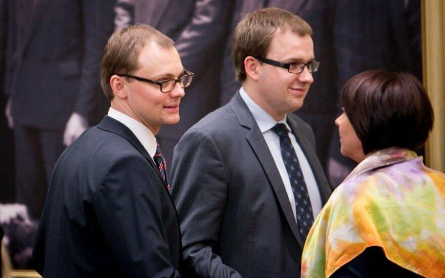 Mantvydas Bekešius ir Vytautas Gapšys