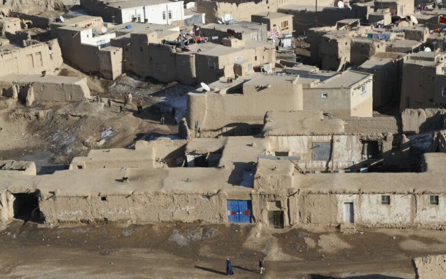 Gaznio miestas Afganistane