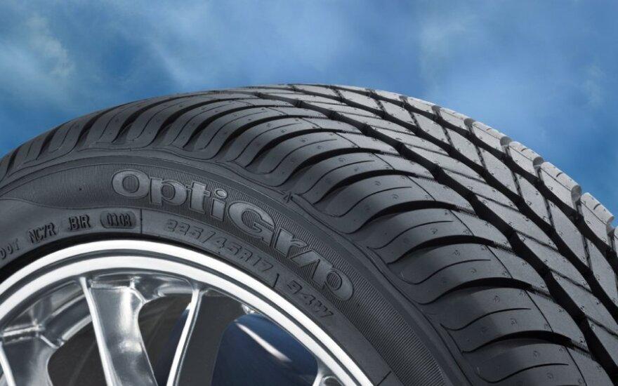 Новые шины Goodyear будут накачивать себя сами