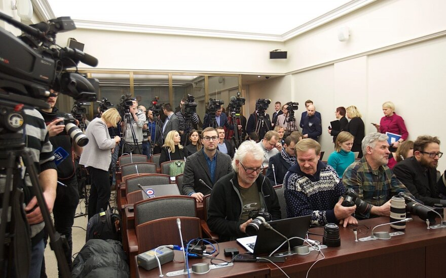 Журналисты Литвы просят президента наложить вето на принятые Сеймом поправки