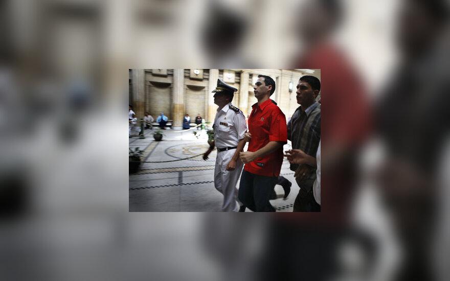Egipte nuteisti kankinimus filmavę policininkai