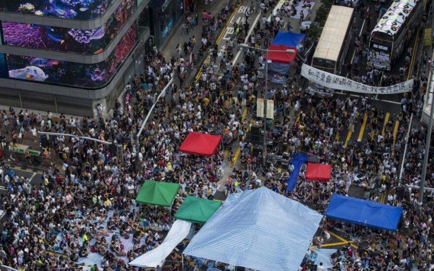 Китай предостерег США от вмешательства в дела бунтующего Гонконга