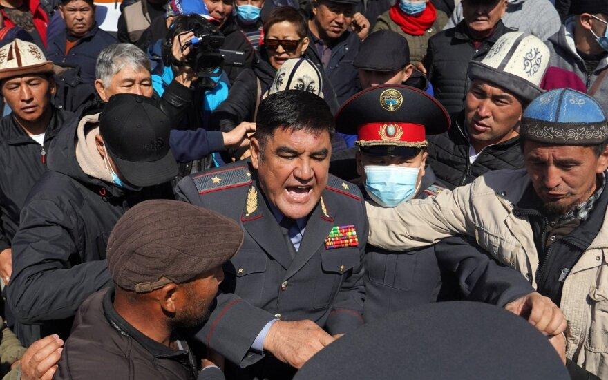 В столице Киргизии объявлено чрезвычайное положение