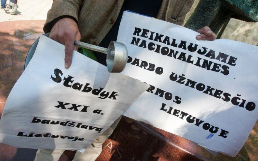 МВФ одобряет повышение минимальной зарплаты в Литве