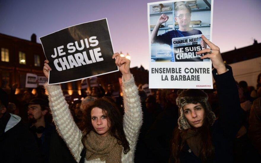 """В Париже проходит """"Марш молчания"""" в память о жертвах теракта"""