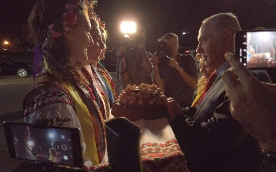 Биньямин Нетаньяху в Киеве