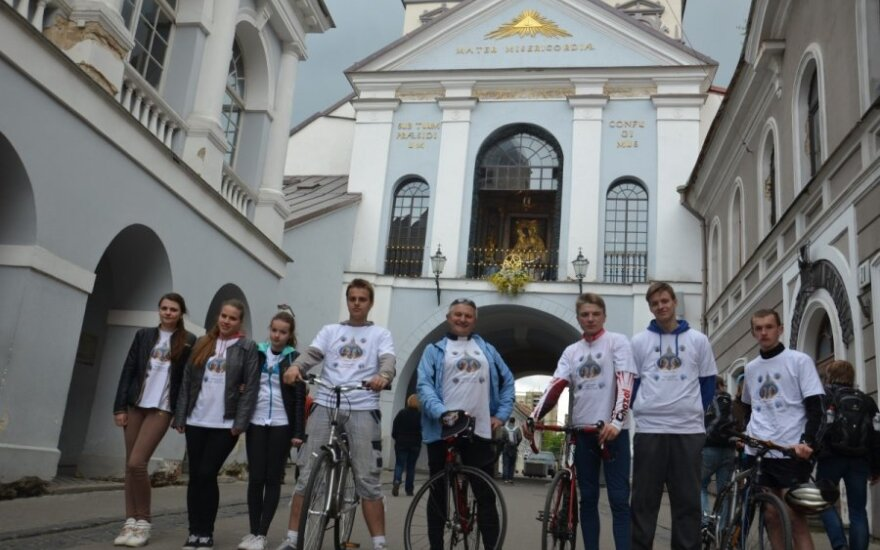 Rajd rowerowy przed Syberią