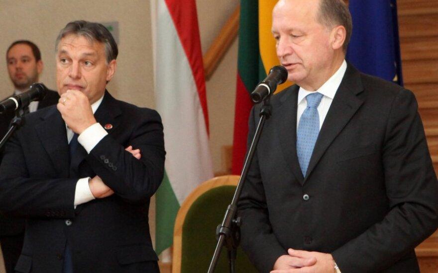 Viktoras Orbanas, Andrius Kubilius