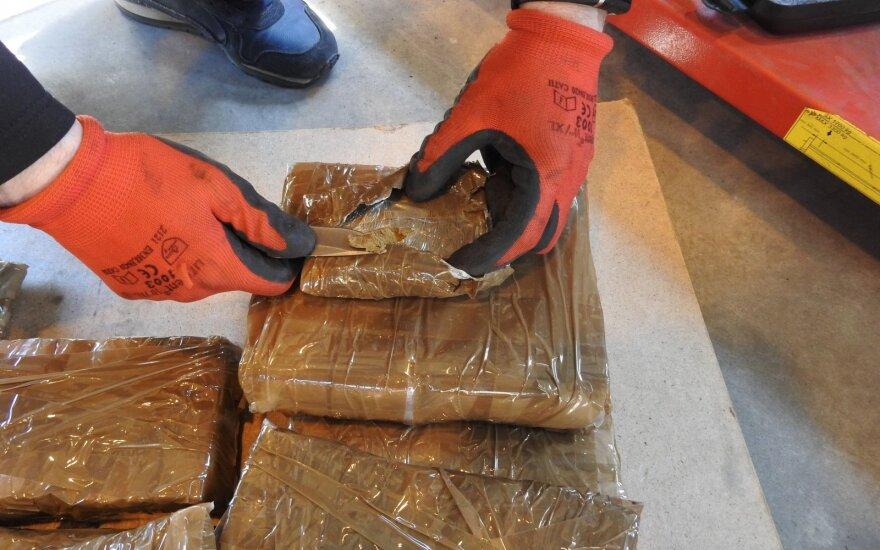 В Литве задержана первая крупная контрабанда наркотиков в этом году